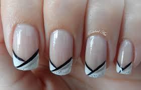 nail art with french tips choice image nail art designs