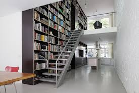 Loft Shelving by Modern Home Library Designs That Know How To Stand Out