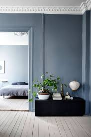 Navy Blue Wall Bedroom Blue Walls Bedroom Ideas Home Design Ideas
