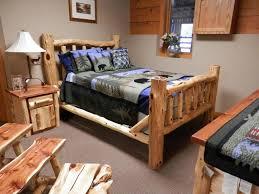 Cedar Bedroom Furniture Log Bedroom Furniture Amish Ohio King Size Sets Nc Back To Find