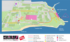 Map Of Portland Maine by Tri For A Cure Course Map U0026 Parking