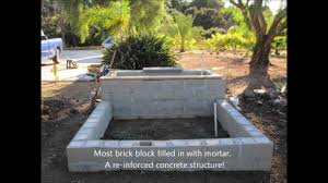 Stone Cladding For Garden Walls by My First Brick Block Wall Veneer Stone Planter Youtube