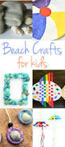perfect beach themed crafts for kids natural beach living