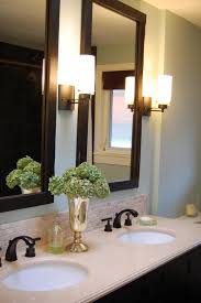 framed bathroom mirrors decor of frame for design