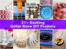 Diy Home Projects by 21 Exciting Dollar Store Diy Projects