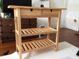 Kitchen Carts On Wheels by Wood Kitchen Carts And The Benefits Offered To You Naindien