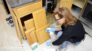 Cleaning Painted Kitchen Cabinets Step By Step Guide How To Paint Kitchen Cabinets H20bungalow