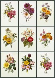 artbyjean paper crafts vintage flower prints on digital collage