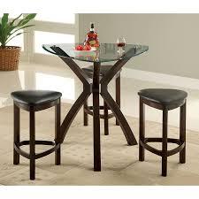 shop furniture of america xanti espresso dining set with