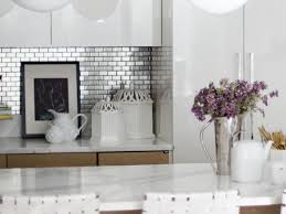Kitchen Tile Designs For Backsplash Stainless Steel Backsplash Tiles Pictures U0026 Ideas From Hgtv Hgtv