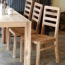 Teak Dining Room Set Dining Room Simple And Interesting Reclaimed Teak Dining Table
