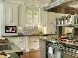 Off White Kitchen Cabinets With Black Countertops Kitchen Kitchen Backsplash Ideas White Cabinets Home Garden