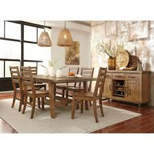 Ashley Furniture Dining Room Chairs Ashley Furniture Dondie Rectangular Dining Room Table Set In Warm