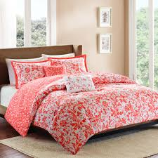Red King Comforter Sets Better Homes And Gardens Clover 5 Piece Bedding Comforter Set