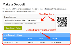 how to get instant one click refills with bitrefill accounts