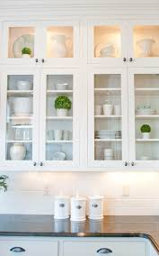 How To Level Kitchen Cabinets Best 25 Glass Cabinets Ideas On Pinterest Glass Kitchen