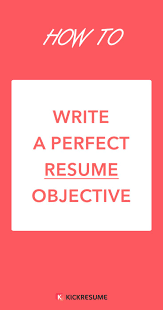professor resume objective best 20 resume objective examples ideas on pinterest career how to write a perfect resume objective examples included