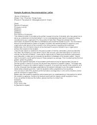 Sample Reference Letter  reference letter sample for university