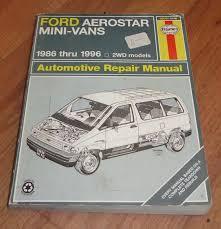 28 1991 ford aerostar repair manual 61708 1991 ford ranger