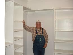 How To Make Closet Shelves by Corner Closet Shelves Design Home Decorations