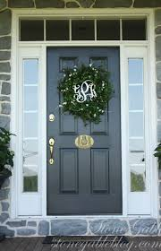 best fresh southern living christmas front door decoratio 7256