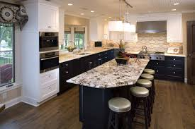 White Kitchen Cabinets With Black Granite Countertops by Countertops White Kitchen Cabinet Countertop Ideas Painting White