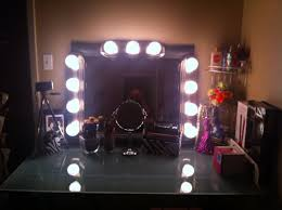 Vanity Bedroom Makeup Glass Top Bedroom Makeup Vanity Table With Lighted Mirror Set
