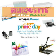 amazon black friday list amazon prime day 2016 silhouette cameo accessory must haves