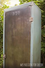 my passion for decor old rusty smelly metal cabinet turned