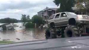 how many monster jam trucks are there army vehicle gets stuck in houston floodwaters u2013 then a monster