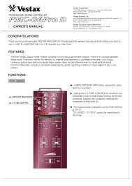 download free pdf for vestax pmc 06proa mixers other manual