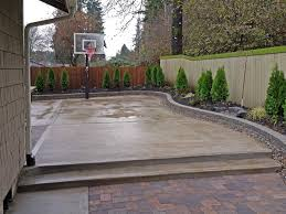 Popular Home Decor Blogs New Fence On Concrete Patio Popular Home Design Interior Amazing