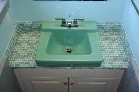 bathroom sink cool tile in bathroom sink home design very nice