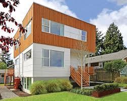 a modern eco friendly prefab home in greenwood seattle met