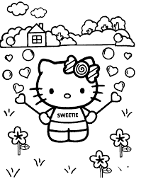 hello kitty templates and coloring pages free printables is it