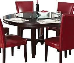 Steve Silver Dining Room Furniture Steve Silver Hartford 62 Inch Round Dining Table In Dark Oak