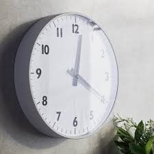 large wall clock home accessories sale the white company uk