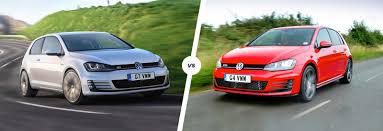 vw golf gti vs golf gtd u2013 battle at the pumps carwow