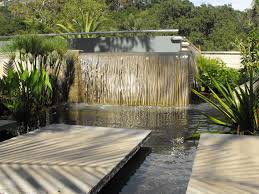 lawn u0026 garden beauty modern backyard waterfall decor with ponds