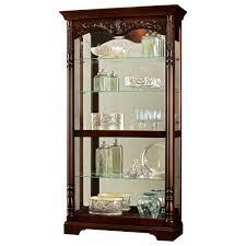 Oak Curio Cabinet Corner Curio Cabinet For Kitchen Tags 35 Frightening Corner