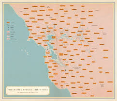 A Map Of America by San Francisco Native American Tribes Map Business Insider