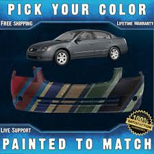 new painted to match front bumper cover for 2005 2006 nissan