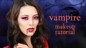 vampire makeup tutorial halloween youtube
