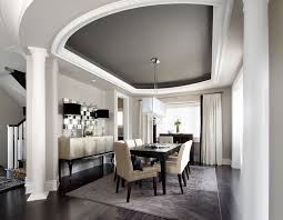 credenza buffet dining room transitional with architectural detail