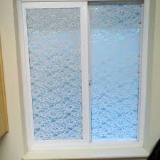 pleased with the results of lace on windows using a renter