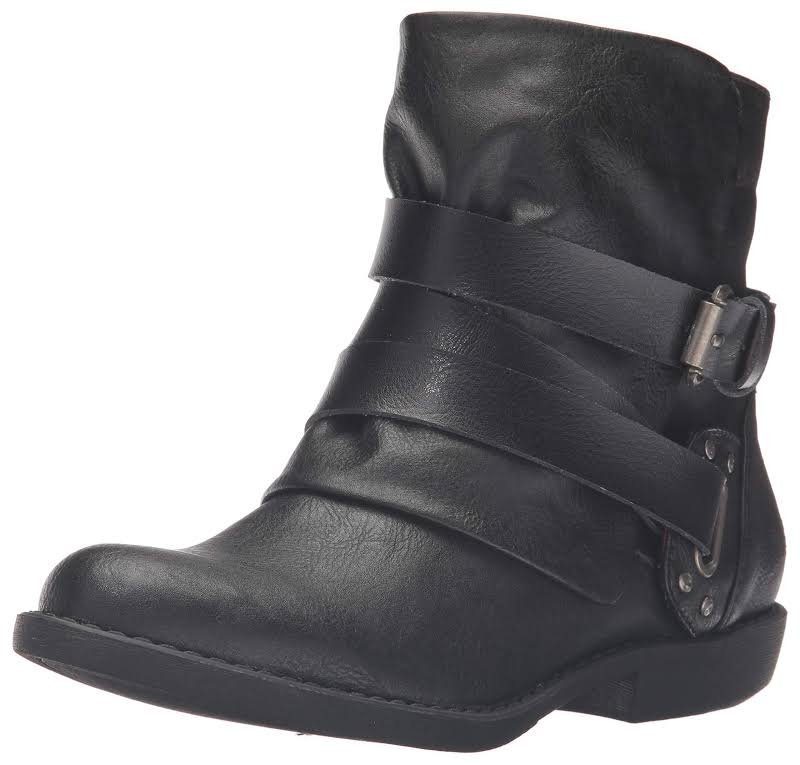 Blowfish Alias Ankle Bootie,Black Old Ranger/Dyecut Pu,9