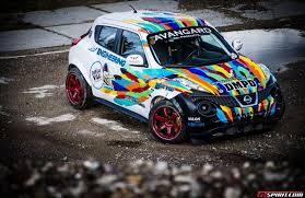 nissan juke white and red first impression nissan juke r by sv engineering