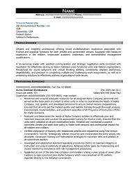 Liaison Resume Sample by Free Federal Resume Sample From Resume Prime