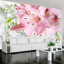 popular flower wall mural buy cheap flower wall mural lots from customized 3d large wall mural beautiful flowers wallpaper modern home decor wall paper murals living room