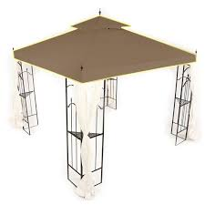 Replacement Canopy Covers by Home Depot Arrow Gazebo Replacement Canopy Cover And Netting